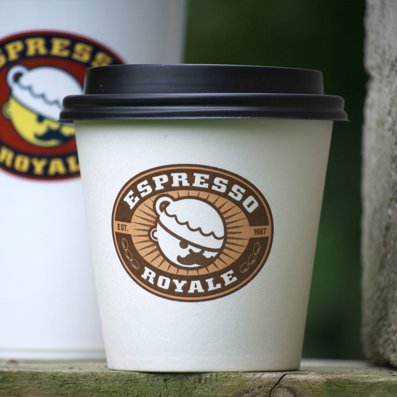 Espresso Royale coffee cup