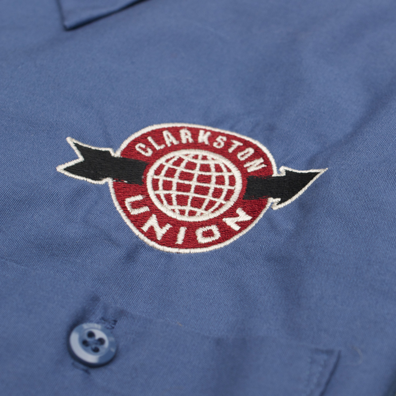 Clarkston Union embroidered shirt