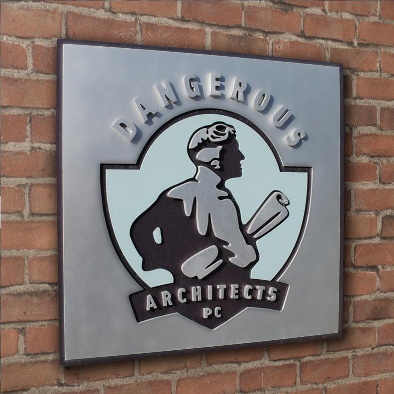 Dangerous Architects Signage