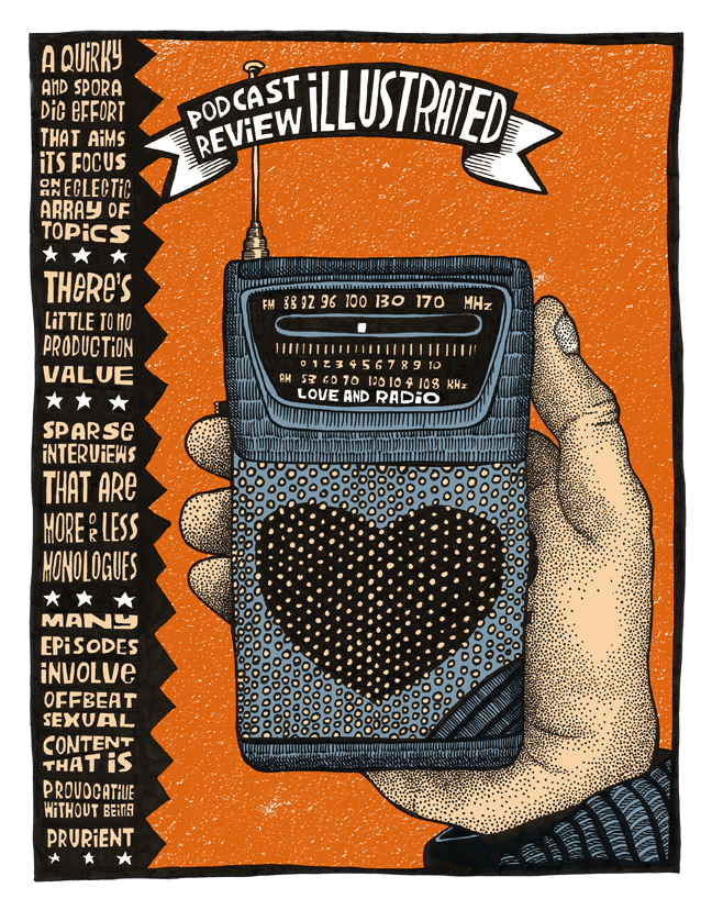 Podcast Review Illustrated: Love and Radio