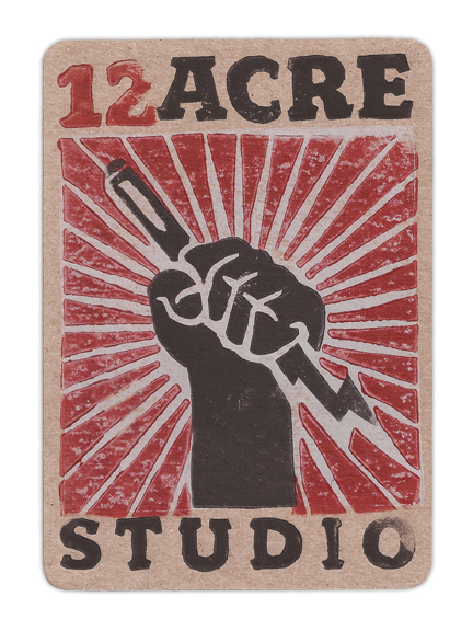 12 Acre Studio Promotional Postcard
