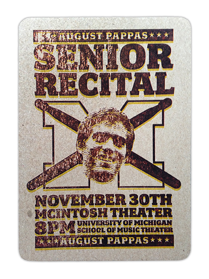 Senior Recital Announcement