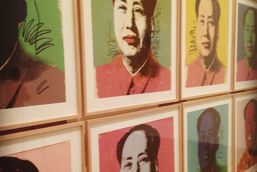 Chairman Mao: silkscreen on paper