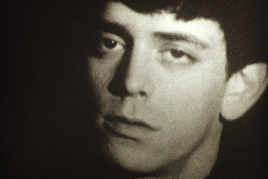 Video segment: Lou Reed screen test