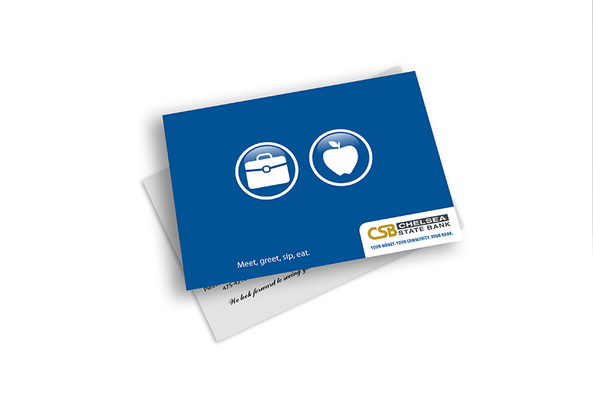 Chelsea State Bank direct mail