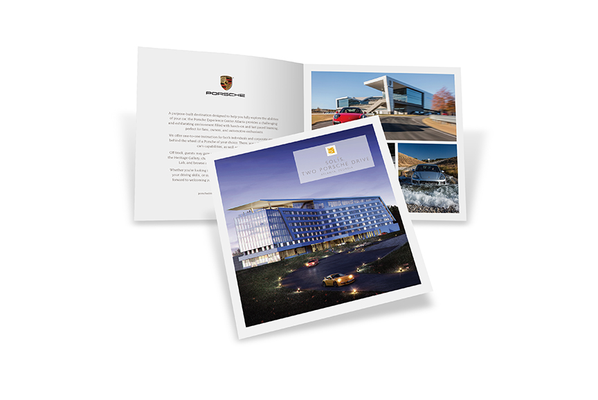 Solis Two Porsche Drive brochure