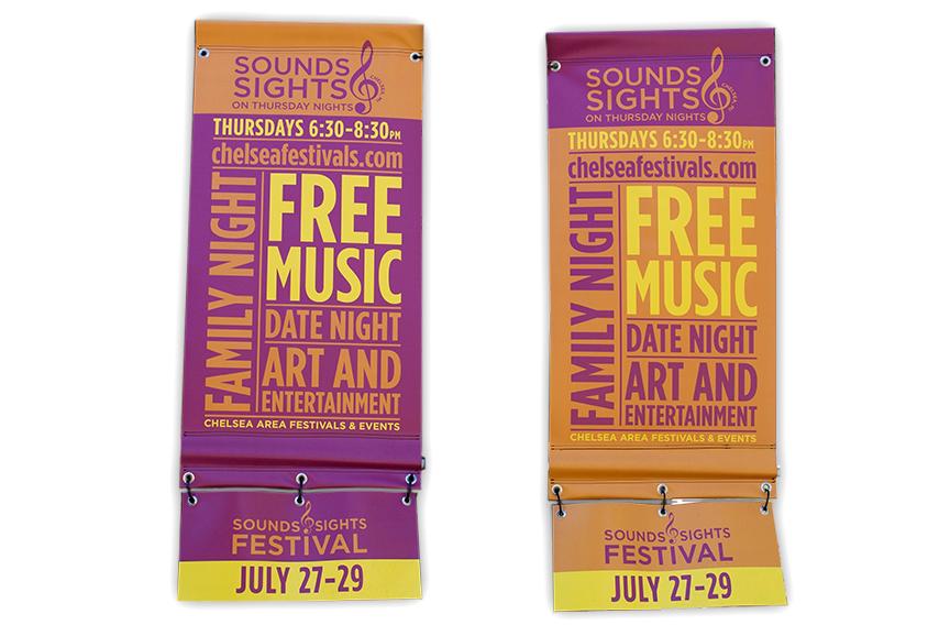 Chelsea Festivals street banners