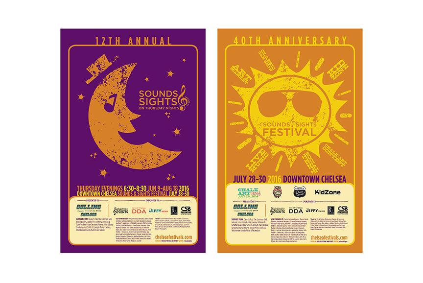 Chelsea Festivals poster design