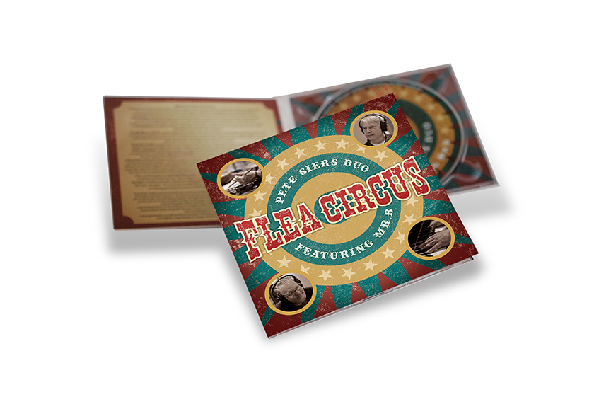 Pete Siers Flea Circus CD packaging