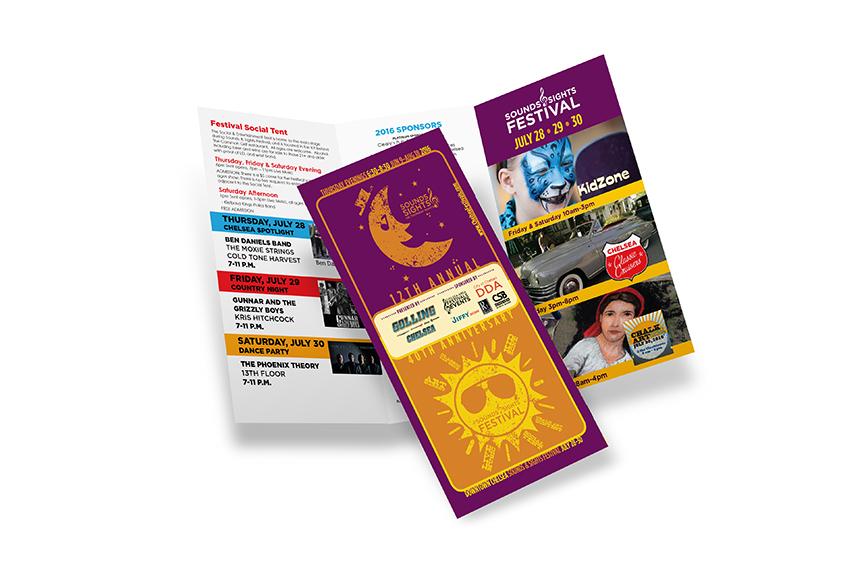Chelsea Festivals brochure