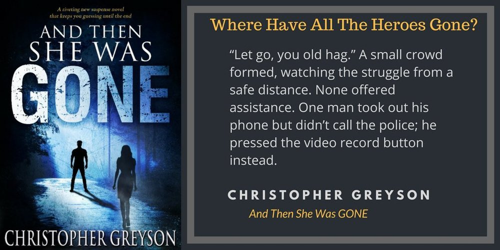 New blog post new release and then she was gone chrisgreyson you can read the ebooks on your amazon kindle fire on a computer via kindle cloud reader or on any smartphone or tablet with the free kindle reading app fandeluxe Gallery