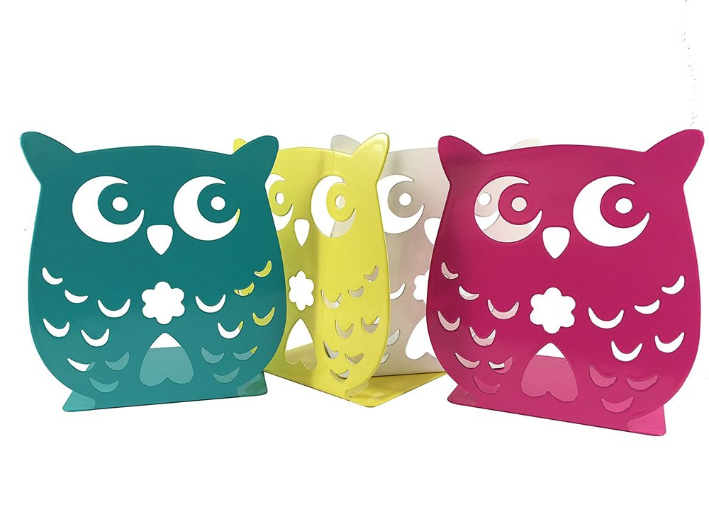 Owl Wonderland Bookends - Cute Lightweight Baby Owls.jpg