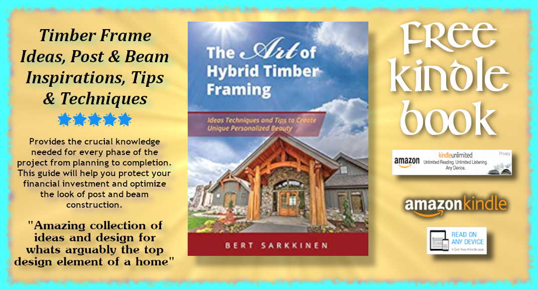 Blog Post ➡ #FREE #KINDLE #BOOK ➡ The Art of Hybrid Timber Framing