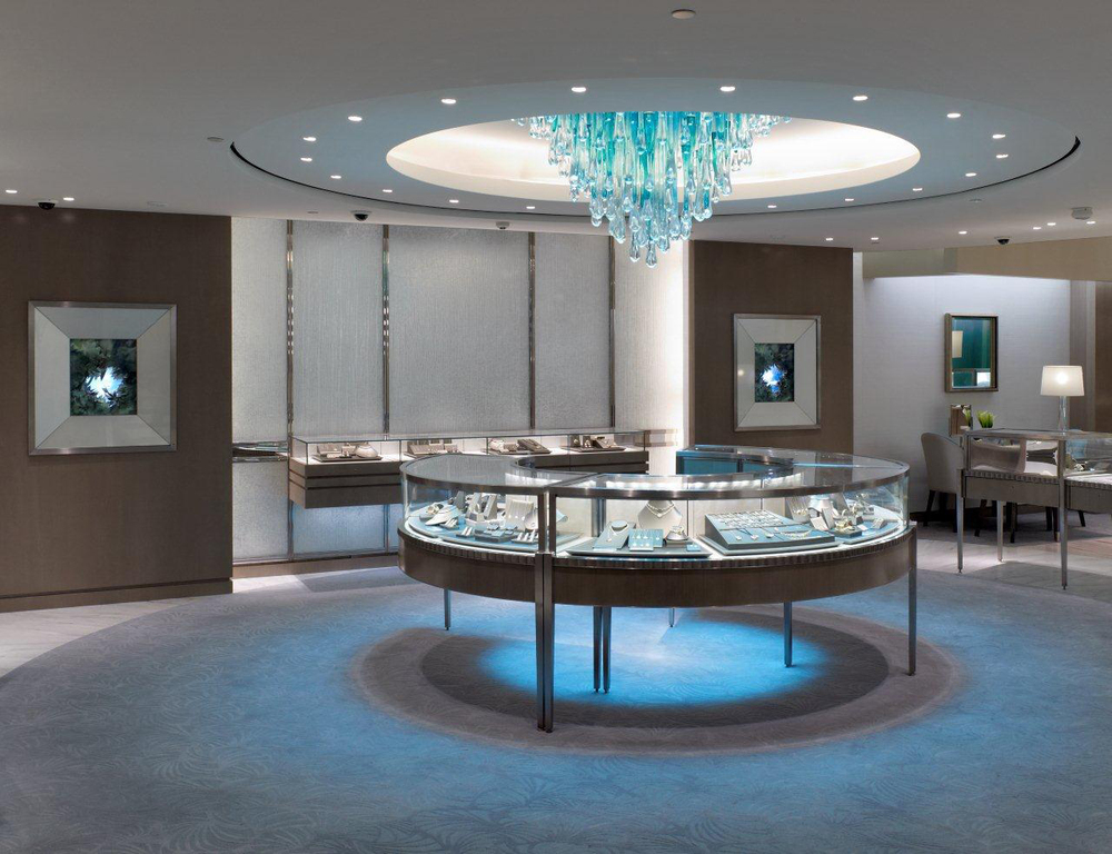 Tiffany & Co - Custom Formed Glass