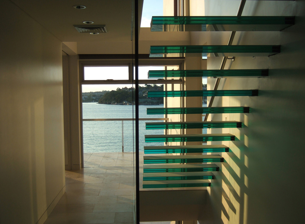 Miro Glass Stair Treads