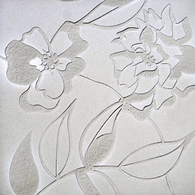 The Galleries Victoria - Floral Carved with Shale Smooth