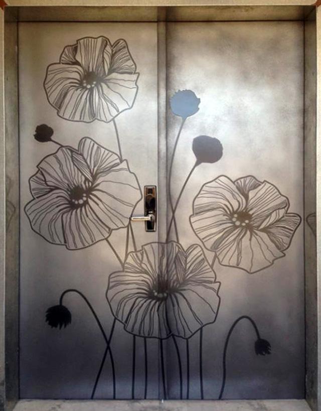 Black Door Texture Pewter_graphite door.jpg: imgarcade.com/1/black-door-texture