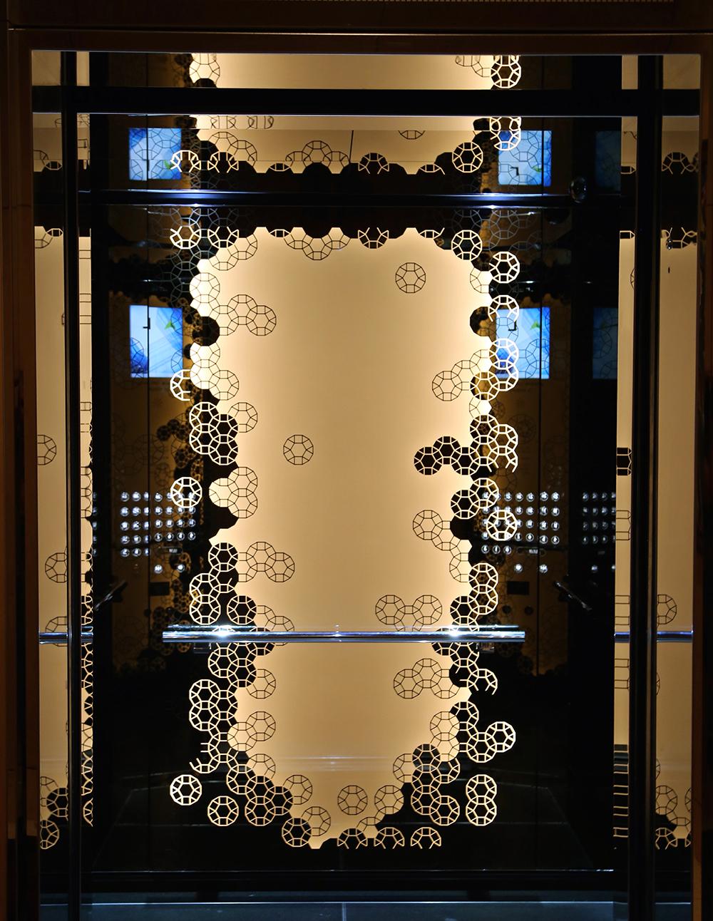The Westin - Lift Interior - Chroma - Bronze Mirror