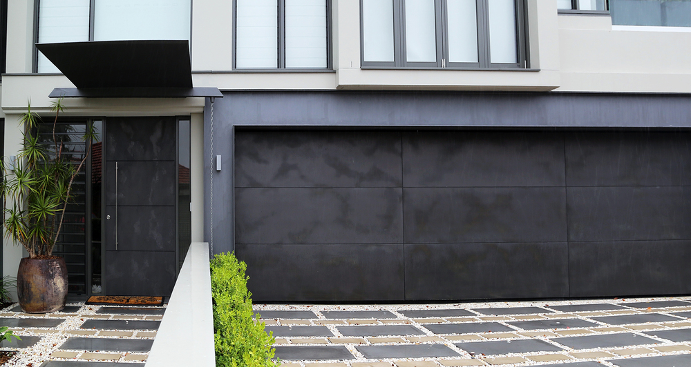 Concrete Slate Smooth Garage