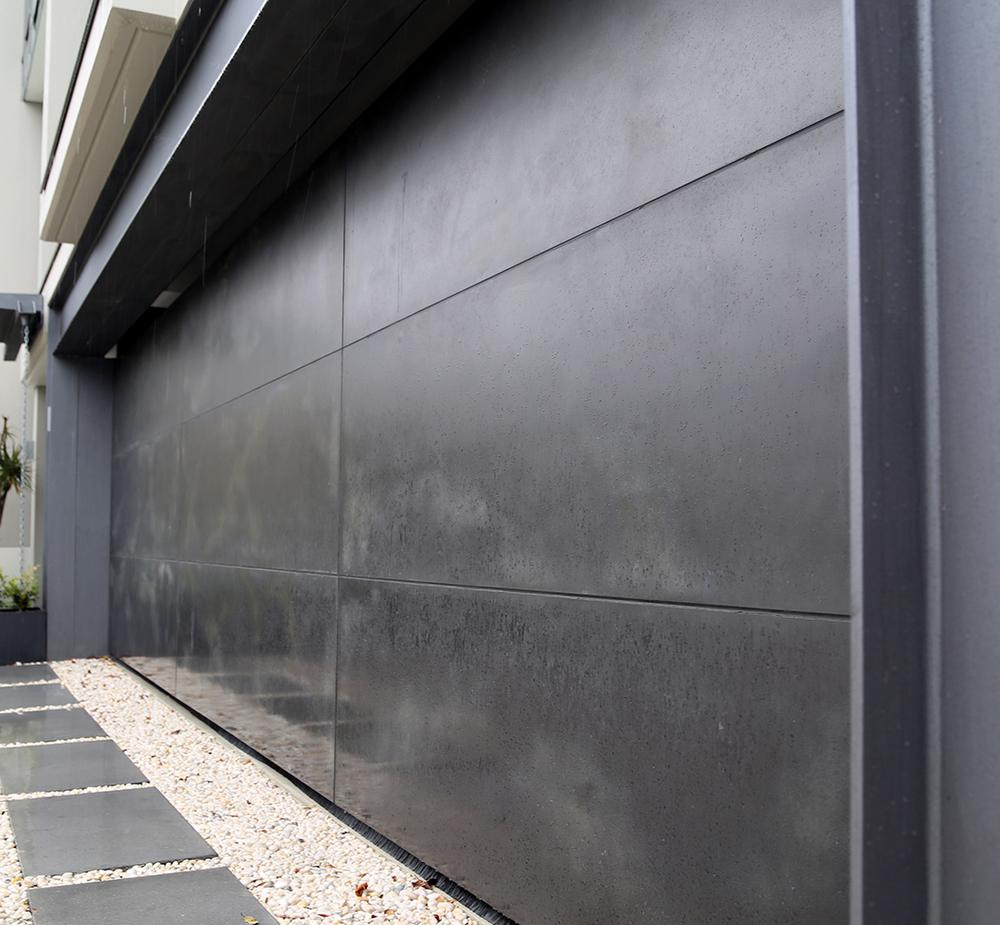 Concrete Slate Smooth Garage