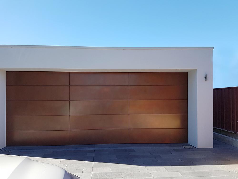 Copper Smooth Pearl | Garage Door
