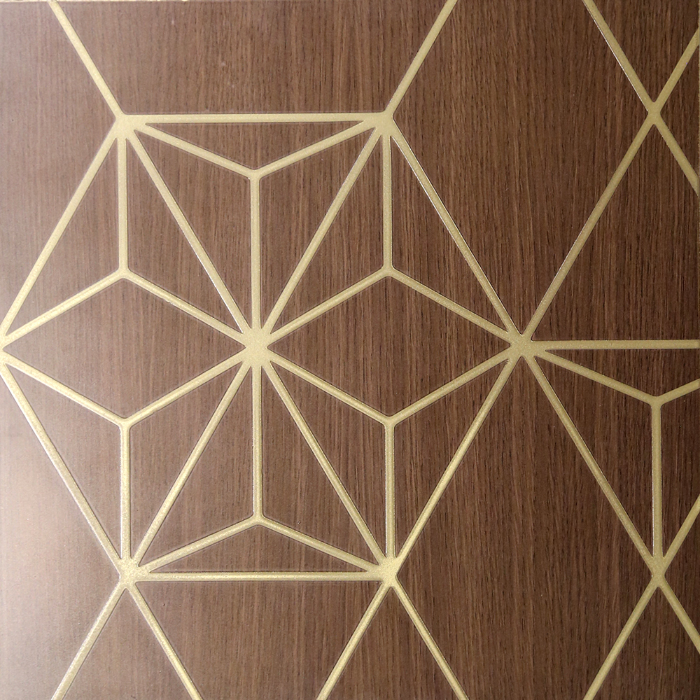 Brass Smooth on Belgian Oak | Constelation
