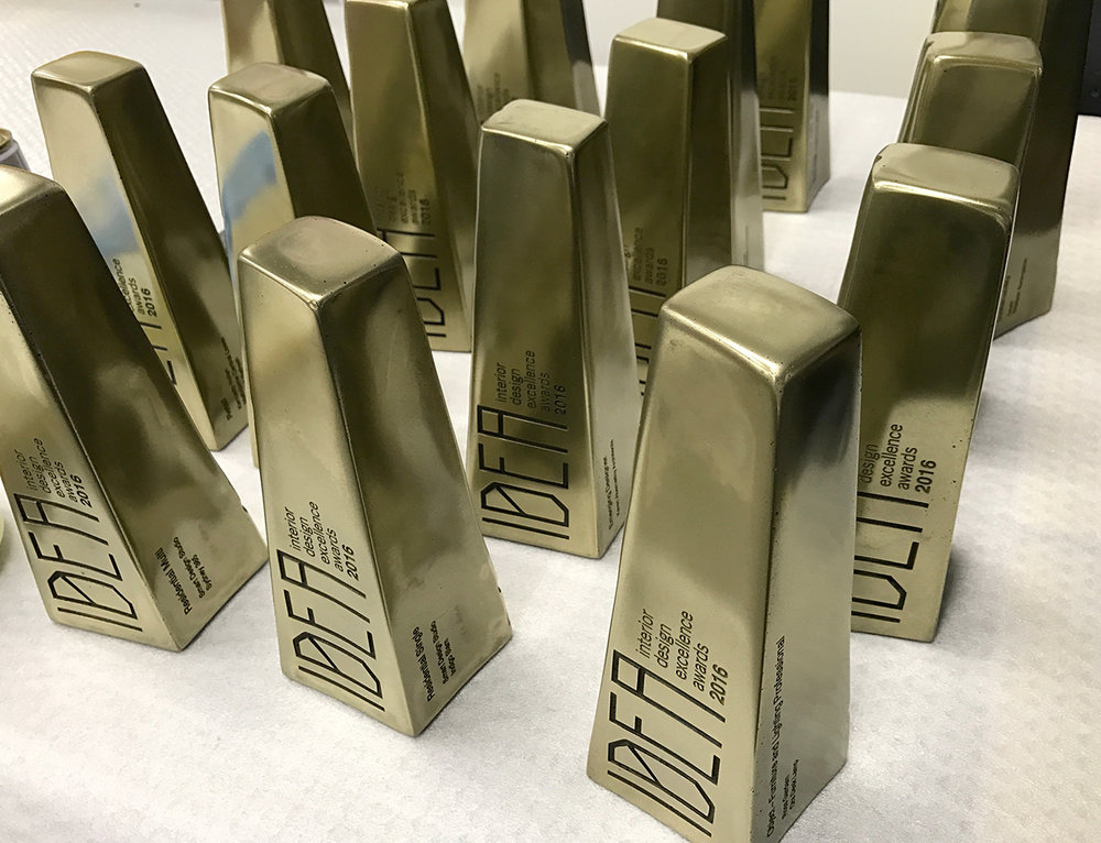 Idea Awards 2016 - Cast Brass