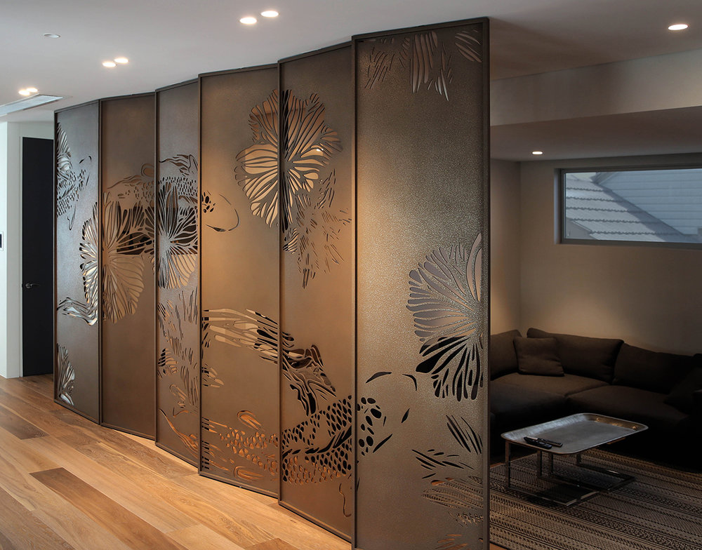 Koi Screens | Bronze Light Texture