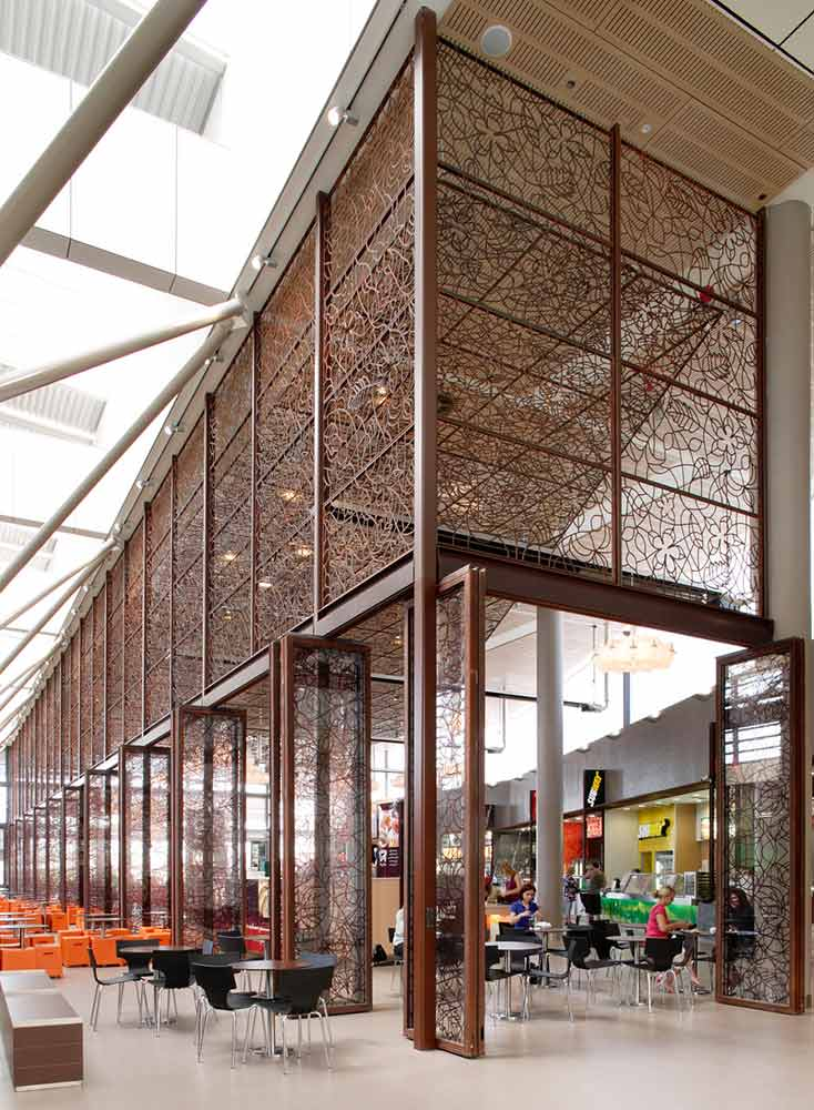 Rouse Hill | Brown Rust Screens