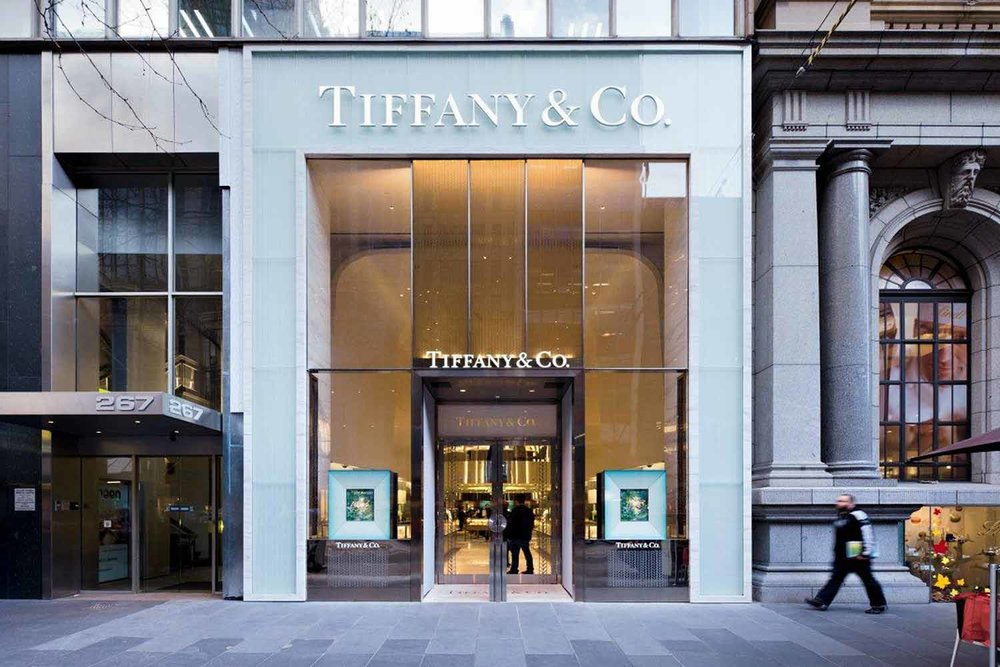 Tiffany's Melbourne | Veil Glass