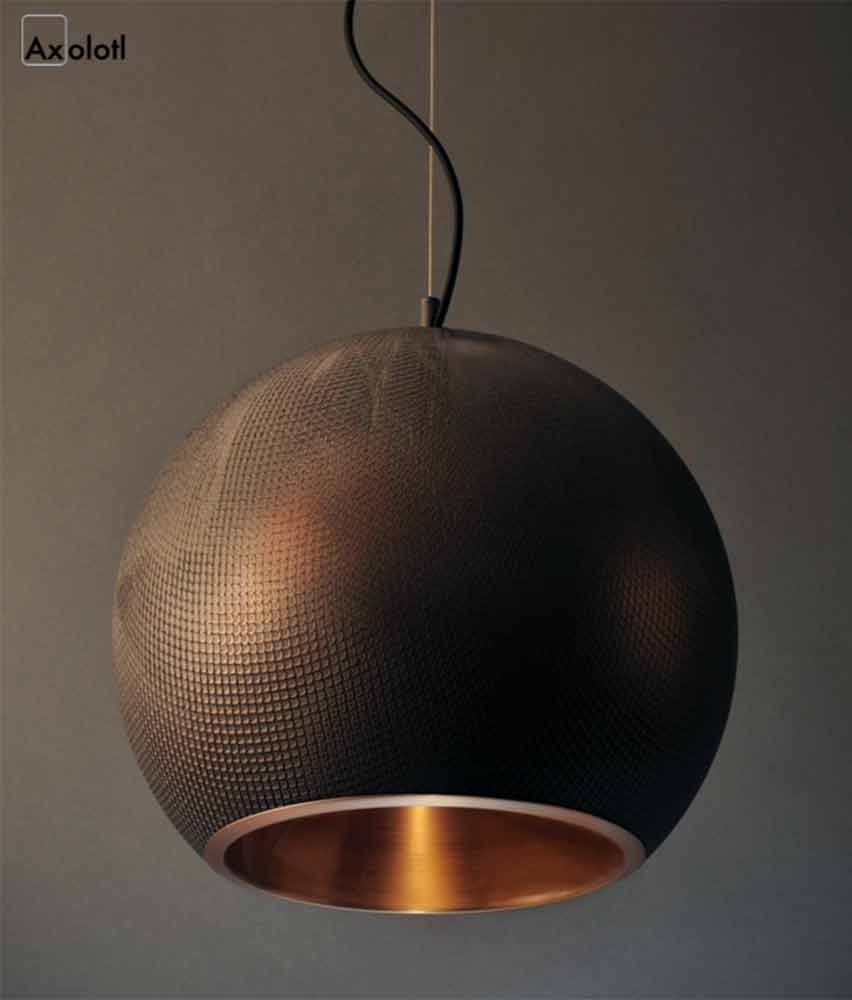 Viper Pendant Light | Copper and Graphite Viper
