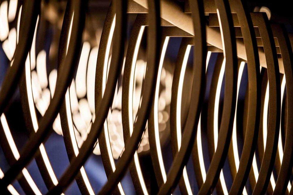 DONN SALISBURY - Squelette | Brass Lunar Brown Florentine