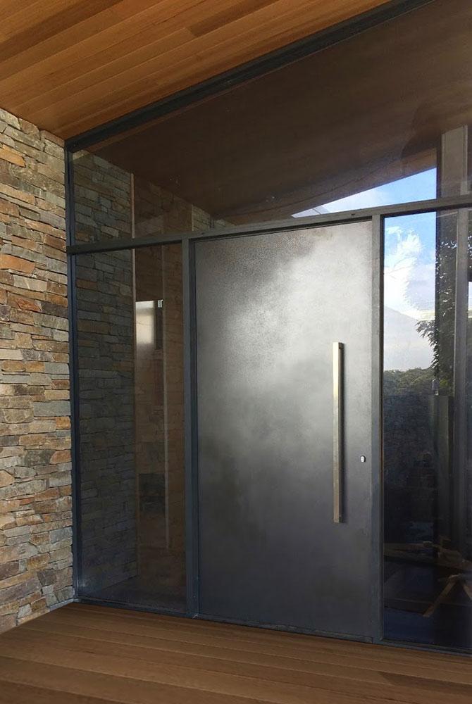 Slate Lunar Door