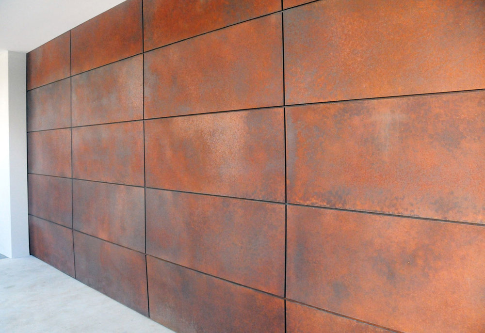 Brown Rust with exposed Iron