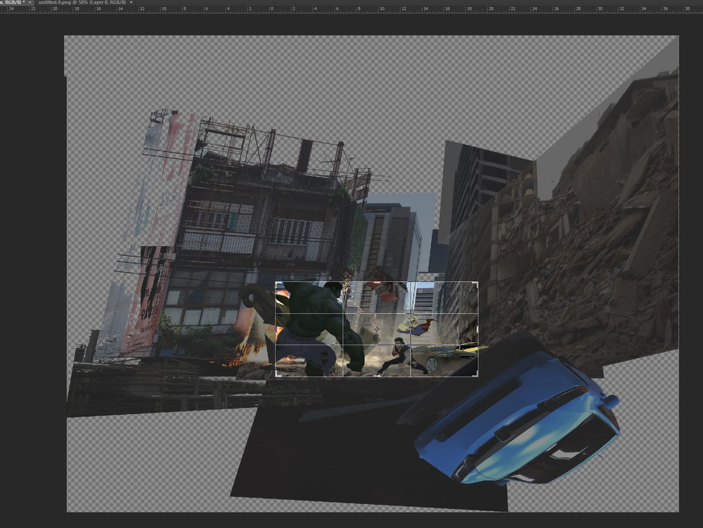 I just wanted to give you an idea of how much distorting I have to do sometimes. :p