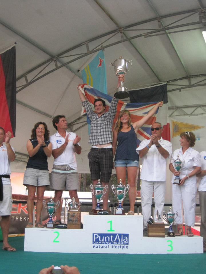 World Champions before the introduction of the Nacra
