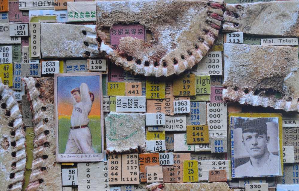 snippet of Christy Mathewson collage, William Chickillo