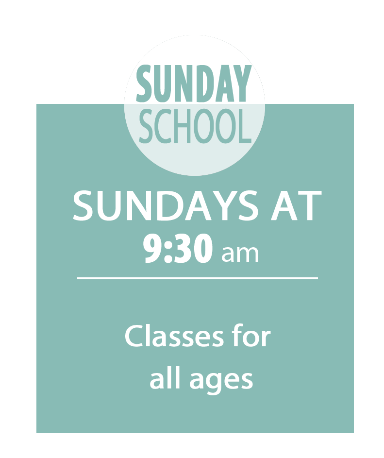 Join us for church Sunday School on Sunday mornings at 201 Dixie Trail, Raleigh, NC at 9:00 am.
