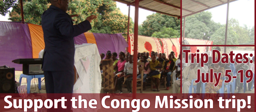 The United African Baptist Church is returning to Congo-Brazzaville and Congo-Kinshasa this summer. In Brazzaville, they'll continue to evangelize among local populations and to support the pastors and deacons that were ordained there last year. In Kinshasa, construction on the church building will continue and they'll distribute clothes collected at Forest Hills for local children and adults. Please be in prayer for this mission team and their efforts over in Congo!