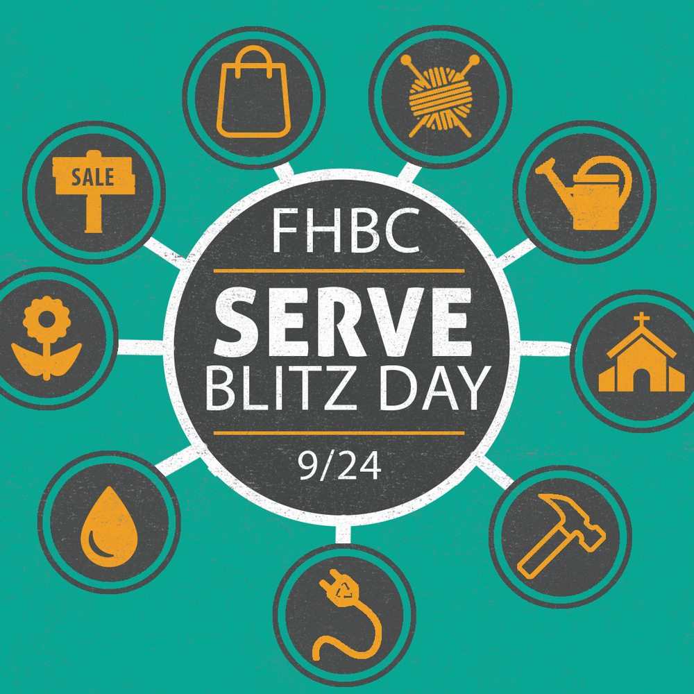 At Forest Hills Baptist Church in Raleigh, we believe in serving--in our church, in our community, or wherever we find ourselves! You're invited to join us in a Serve Blitz Day on Sept 24. See a list of all projects   here   or check out how you can get involved below!