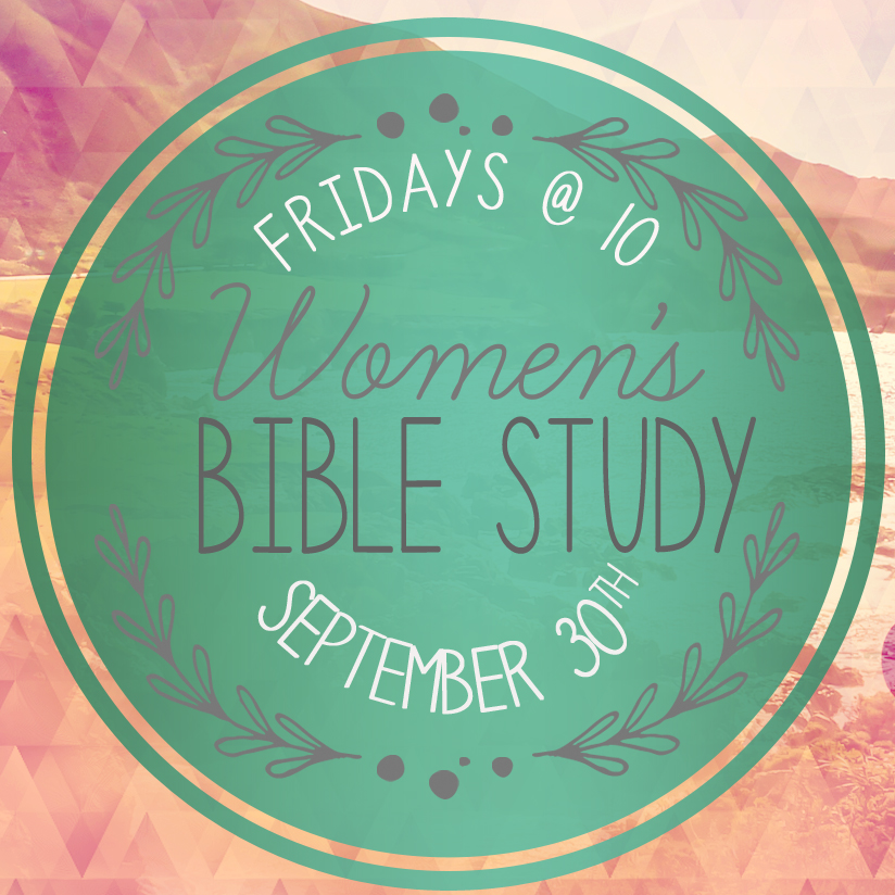 "We will begin a new Ladies' Bible Study at Forest Hills on Fri, 9/30 at 10:00 am in the church parlor. We will be studying Melissa Spoelstra's ""Jeremiah: Finding Hope in an Unstable World."" Please visit foresthills.org/women for more details."