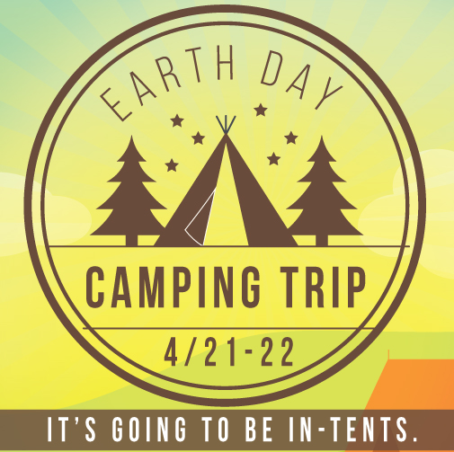 Our youth group will be going on an Earth Day Camping Trip on April 21-22nd. This trip will give us an opportunity to get in touch with God's creation, and experience community together.