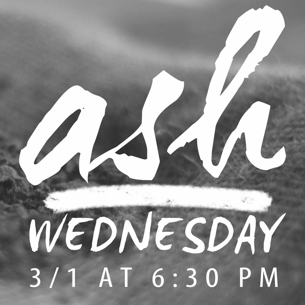 On March 1, we will hold an Ash Wednesday Service beginning at 6:30 pm. This service will provide times of reflection and confession as we enter the season of Lent, itself a time of fasting and moderation in preparation for Easter. The service will be held in the sanctuary and all are invited.