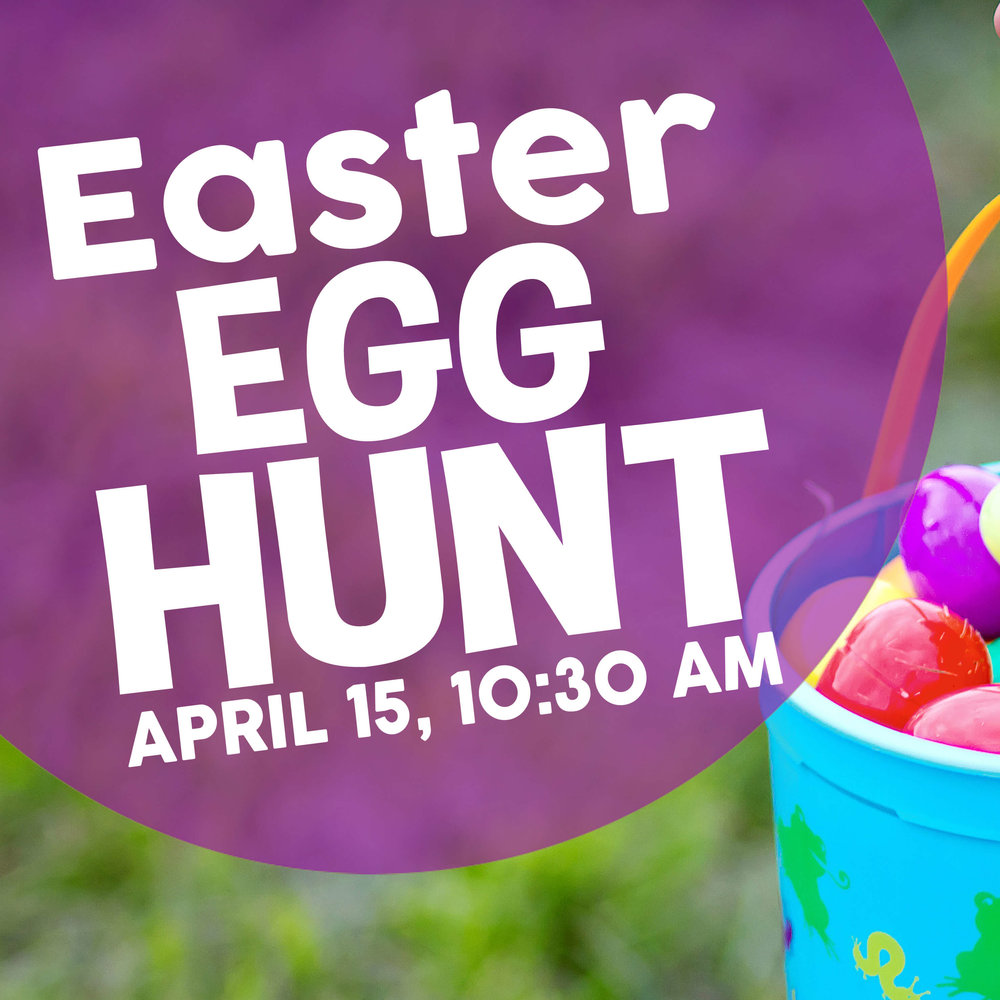 Children from birth-5th grade are invited to join us for our Easter Egg Hunt on 4/15 at 10:30 am. Meet in the fellowship hall for Easter activities, the Easter story, and the egg hunt. A parent/guardian should accompany children during the event. To RSVP, visit foresthills.org/egghunt. Rain will cancel this event; visit  foresthills.org/egghunt  for weather updates.