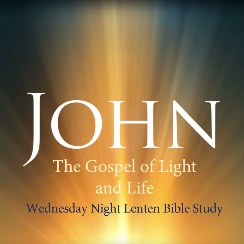 Join us each Wednesday night beginning on March 8 for this video-based Bible study as we experience a season of spiritual growth and life-changing renewal while reading the entire Gospel of John during Lent.