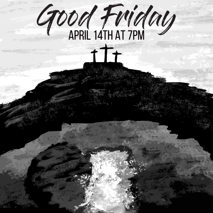 Forest Hills will have a Good Friday Service on Friday, April 14th, beginning at 7:00 p.m. This service will focus on the Seven Last Words of Christ. All are invited as we reflect on the sacrifice Jesus made for each of us on the cross.