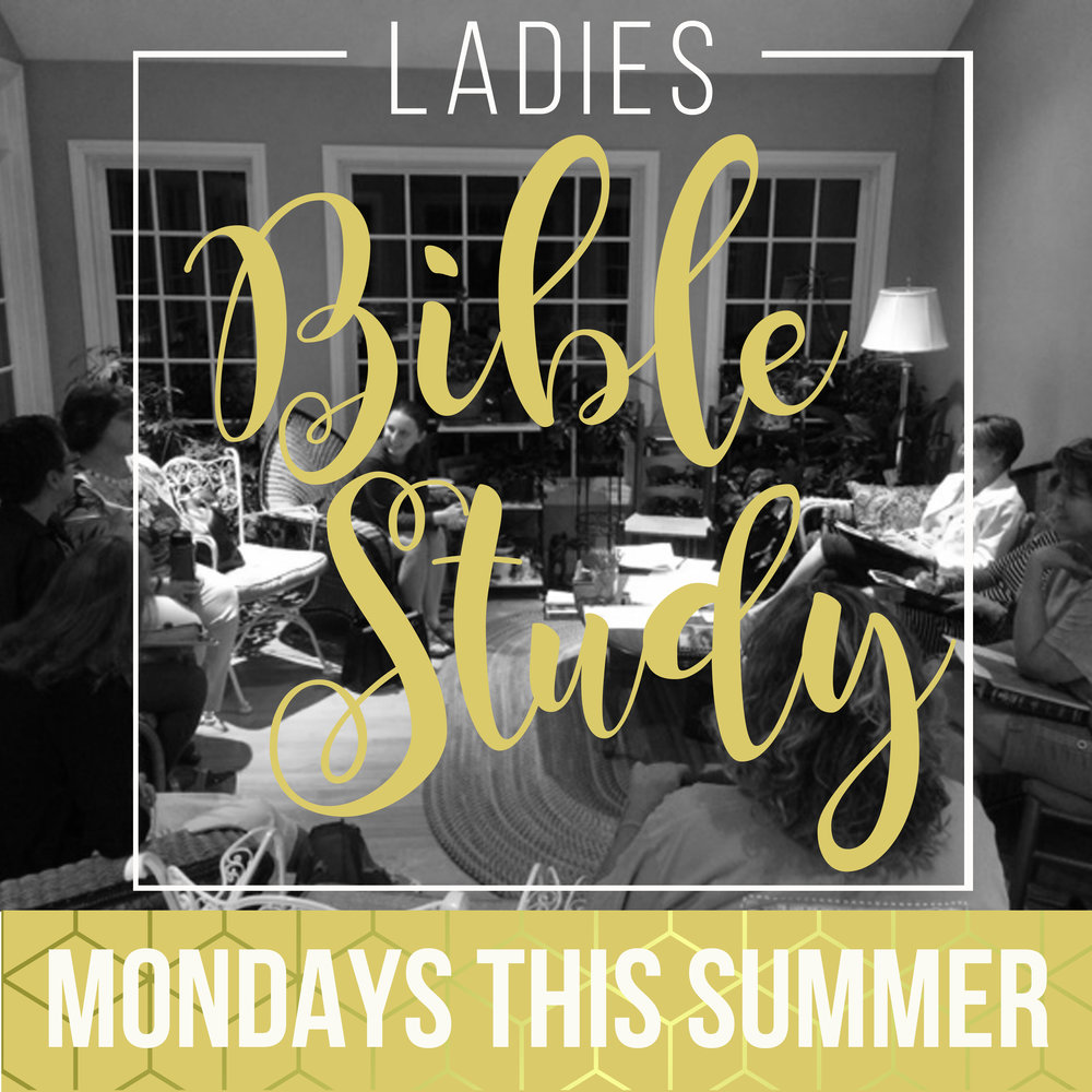 Women's Summer Bible Study- Interested in joining with other women for Bible study, fellowship and fun? We will be studying several of the parables of Jesus, looking at the what it means to follow Jesus, the importance of prayer, dealing with greed and worry, and being a part of the Kingdom of God. We'll meet on Mondays from 7 – 9:00 pm for 5 weeks beginning 6/19. Frances Overby is hosting and facilitating the study in her North Raleigh home. If interested, contact  Frances.