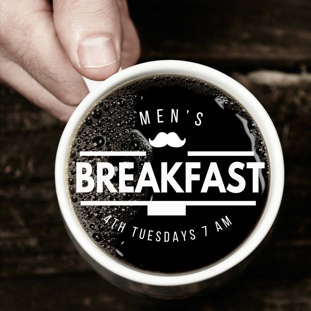 All men are invited to join us for a new,monthly breakfast gathering at Pam's Farmhouse (5111 Western Blvd).On the fourth Tuesday of each month,we'll gather for breakfast at 7:00 am.This is a great time for fellowship and to invite friends who may not already be involved in a church.There's no program or Bible study,just an opportunity to get to know one another and enjoy some good food!(PS -Pam's is cash only)
