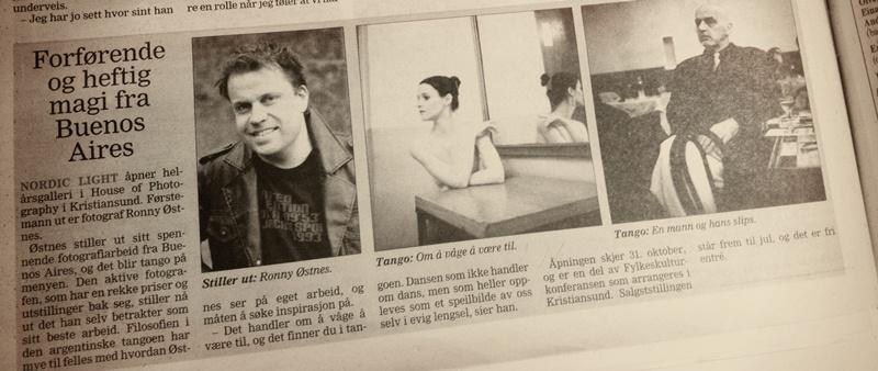Tidens Krav, 20.20.2012