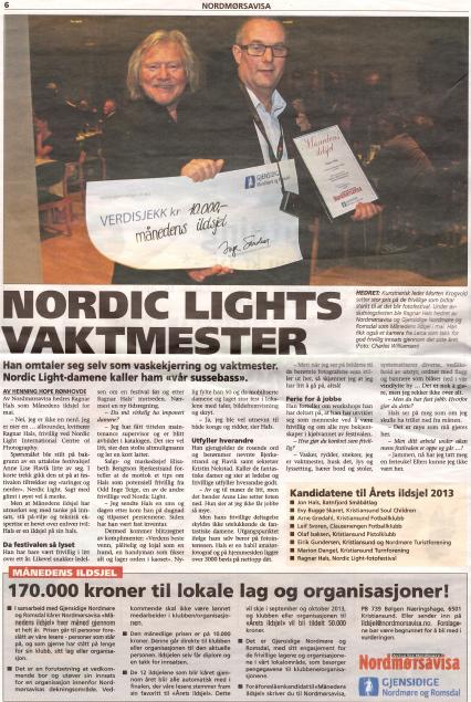 Faksimile fra Nordmørsavisa. LAST NED PDF.